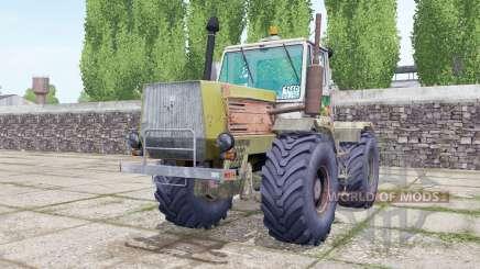 T-150K com o mecanismo de seleção para Farming Simulator 2017