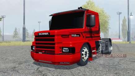 Scania T112HW 4x4 para Farming Simulator 2013