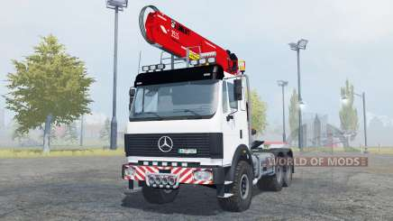 Mercedes-Benz 2631 S timber loader para Farming Simulator 2013