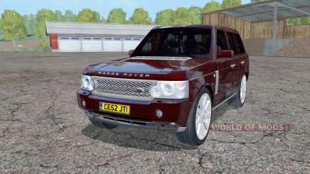Land Rover Range Rover Superchargeɗ (L322) 2005 para Farming Simulator 2015