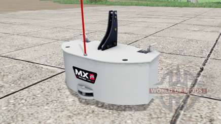 MX Multimass 1200 para Farming Simulator 2017