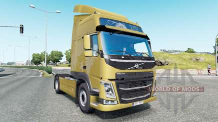 Volvo FM 410 Globetrotter LXL cab 2013 para Euro Truck Simulator 2