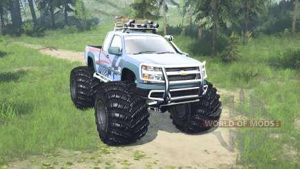 Chevrolet Colorado Extended Cab monster truck para MudRunner