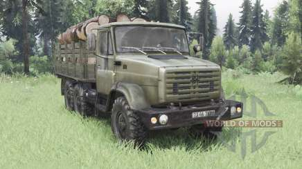ZIL-4334 6x6 para Spin Tires