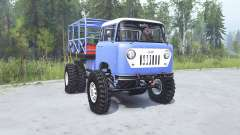 Jeep FC-170 1957 TTC para MudRunner