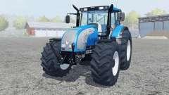 Valtra T182 spanish sky blue para Farming Simulator 2013