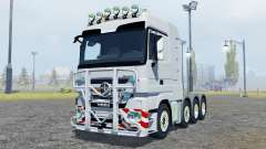 Mercedes-Benz Actros SLT 4160 (MP3) 2009 para Farming Simulator 2013