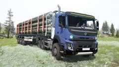 Volvo FMX 500 Day Cab 6x6 para MudRunner