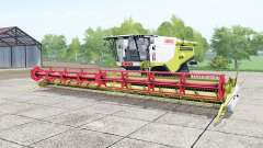Claas Lexion 780 TerraTrac june bud para Farming Simulator 2017