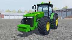John Deere 8360R vivid malachite para Farming Simulator 2013