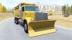 Gavril T-Series snow plow para BeamNG Drive