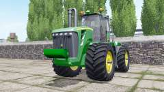 John Deere 9630 spanish green para Farming Simulator 2017