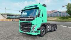 Volvo FM 500 6x2 Globetrotter cab 2013 para Euro Truck Simulator 2