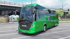 Scania Touring K410 malachite para Euro Truck Simulator 2