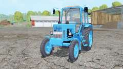 MTZ-80, Bielorrússia cor azul para Farming Simulator 2015