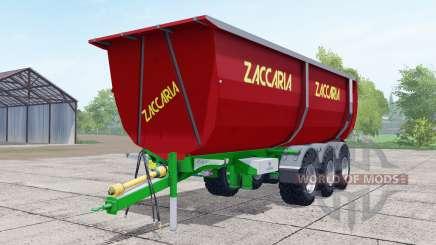 Zaccaria ZAM 200 DP8 Super Plus strong red para Farming Simulator 2017