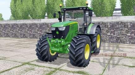 John Deere 6155R front loader para Farming Simulator 2017