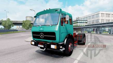 Mercedes-Benz 1632 (Br.387) 1973 tiffany blue para Euro Truck Simulator 2