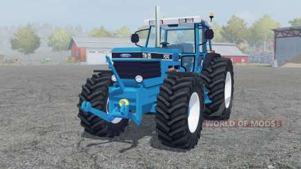 Ford TW-35 strong cyan para Farming Simulator 2013
