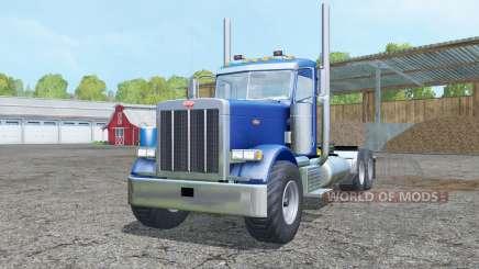 Peterbilt 379 Day Cab para Farming Simulator 2015