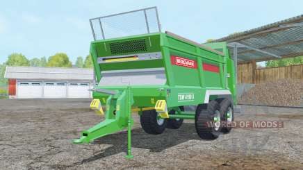 Bergmann TSW 4190 S pantone green para Farming Simulator 2015