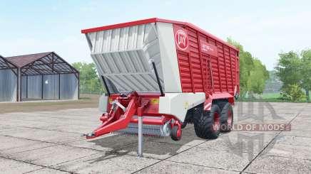 Lely Tigo XR 75 D deep carmine pink para Farming Simulator 2017