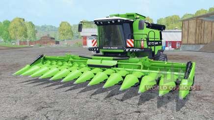 Deutz-Fahr 7545 RTS soft lime green para Farming Simulator 2015