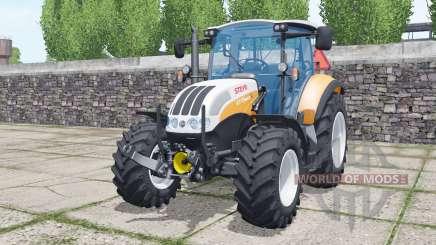 Steyr 4115 Multi 2013 soft orange para Farming Simulator 2017