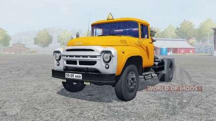 ZIL-130V cor laranja para Farming Simulator 2013