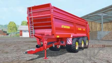 Strautmann PS 3401 vivid red para Farming Simulator 2015