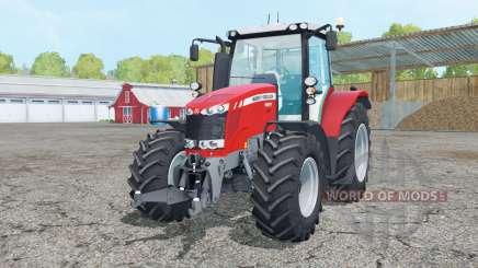Massey Ferguson 6613 change wheels para Farming Simulator 2015