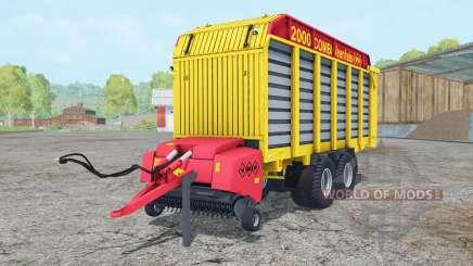Veenhuis Combi 2000 ripe lemon para Farming Simulator 2015