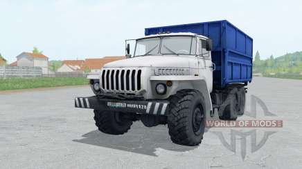 Ural 5557 branco para Farming Simulator 2017