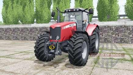 Massey Ferguson 7480 deep carmine pink para Farming Simulator 2017
