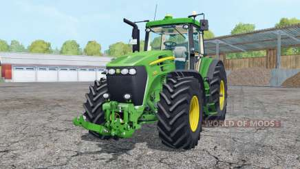 John Deere 7920 vivid malachite para Farming Simulator 2015
