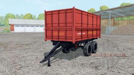 PTU-7.5 macio, de cor vermelho- para Farming Simulator 2015
