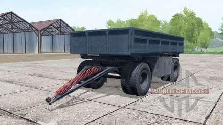NefAZ-8560 cinza escuro-cor azul para Farming Simulator 2017