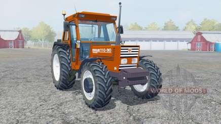 New Holland 110-90 blaze orange para Farming Simulator 2013