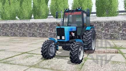 MTZ-82.1 Bielorrússia com carregador para Farming Simulator 2017