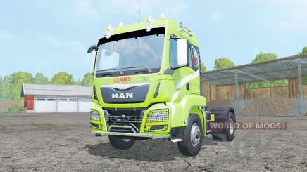 MAN TGS 18.440 Claas Edition para Farming Simulator 2015