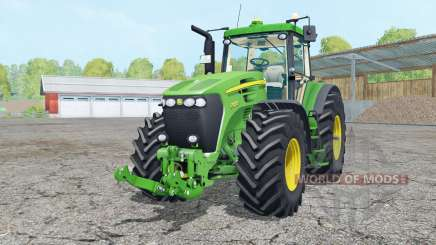 A John Deere 7920 vivas malachitᶒ para Farming Simulator 2015