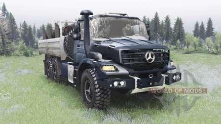 Mercedes-Benz Zetros 2733 A gunmetal para Spin Tires