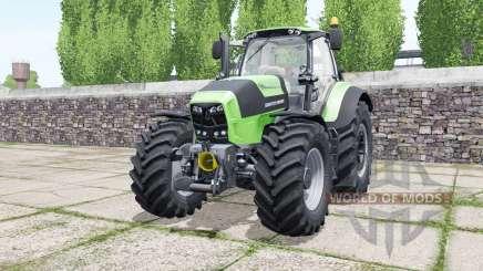 Deutz-Fahr Agrotron 7210 TTV soft lime green para Farming Simulator 2017