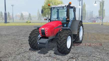Same Explorer 105 radical red para Farming Simulator 2013