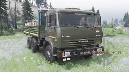 KamAZ 53228 para Spin Tires