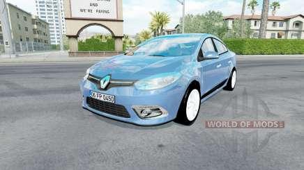 Renault Fluence 2014 para American Truck Simulator