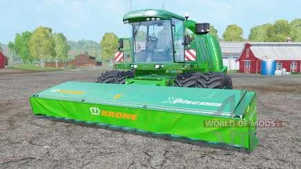 Krone BiG X 1100 dual front wheels para Farming Simulator 2015