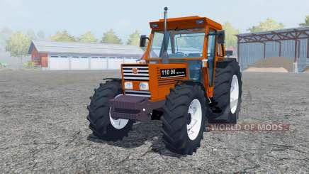 New Holland 110-90 pure orange para Farming Simulator 2013
