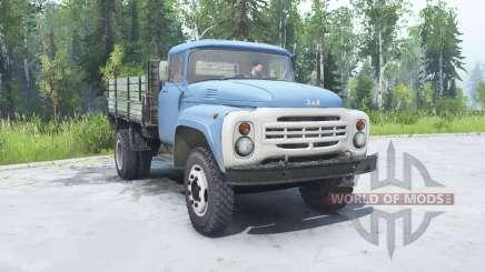 ZIL 130 soft-cor azul para MudRunner