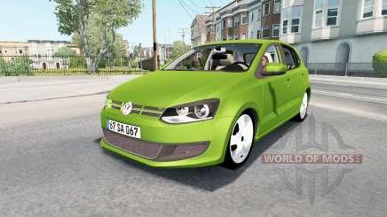 Volkswagen Polo 5-door (Typ 6R) 2010 para American Truck Simulator
